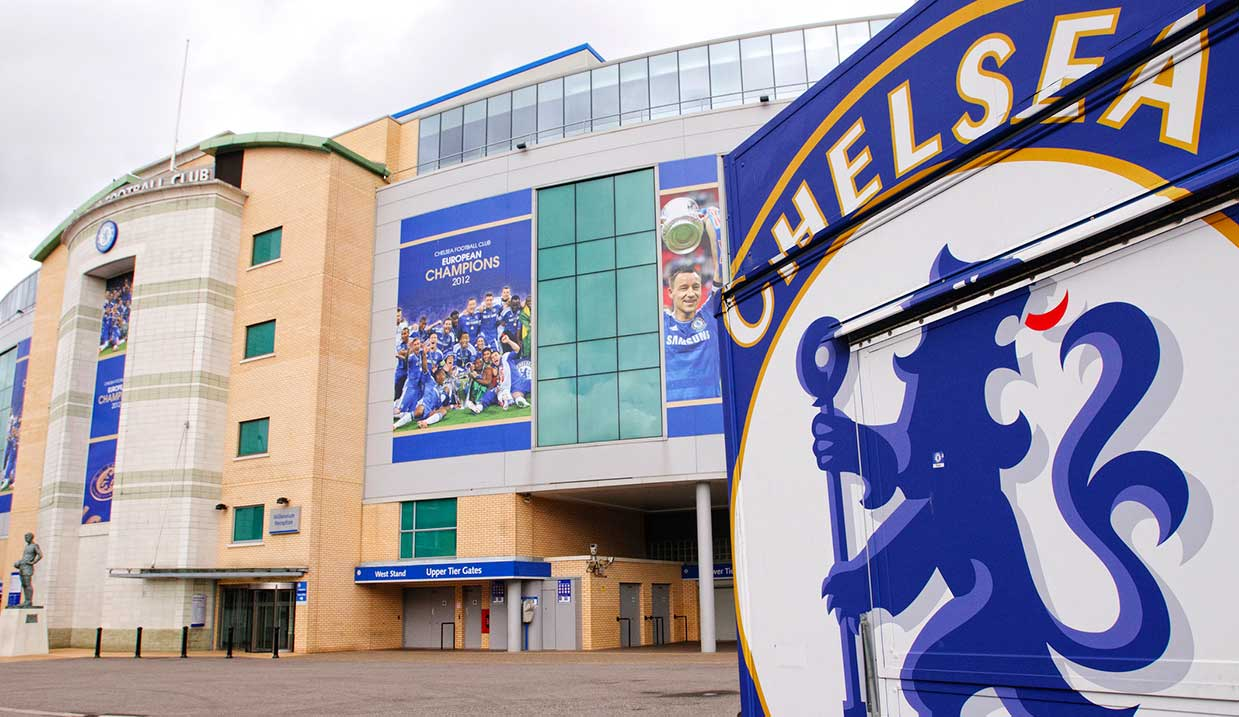 A fully vegan kiosk has opened at the home of Chelsea Football Club