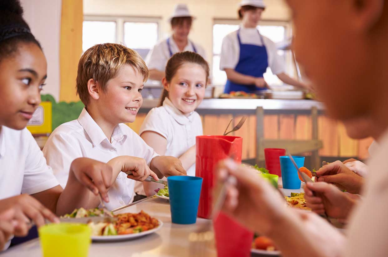 Vegan school dinners will be served at 180 schools in Leeds to combat climate change