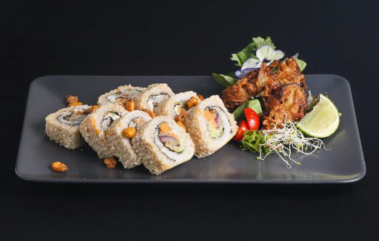 A vegan sushi restaurant has just opened in Amsterdam
