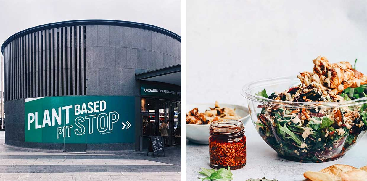 The UK's first all-vegan food hub has just opened at London's King's Cross