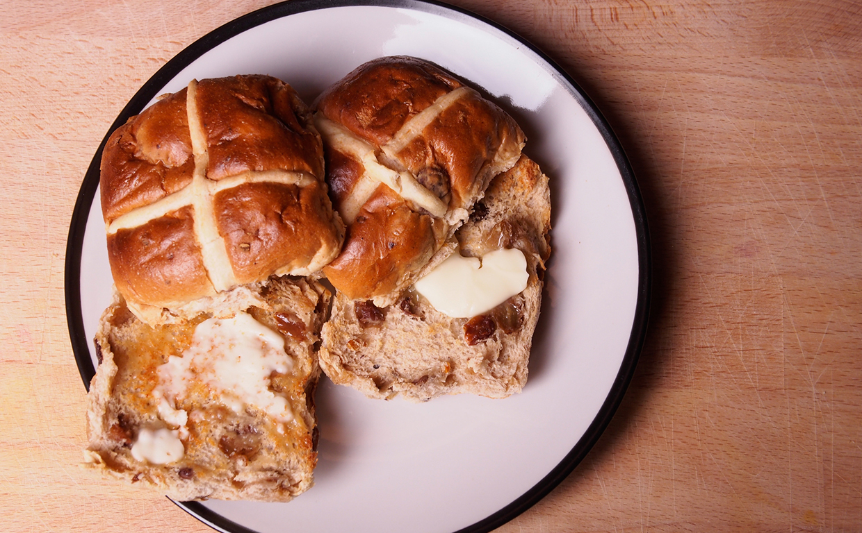 The best vegan hot cross buns you can find in UK supermarkets this Easter