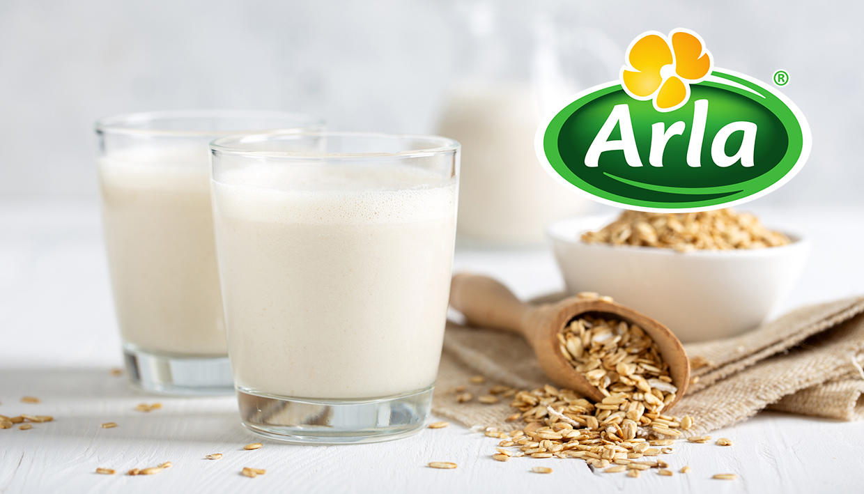 Dairy giant Arla enters dairy-free market with new plant-based oat drinks