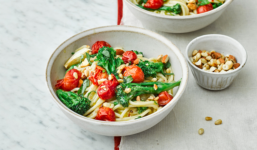 Roasted Tomato & Broccoli Pasta
