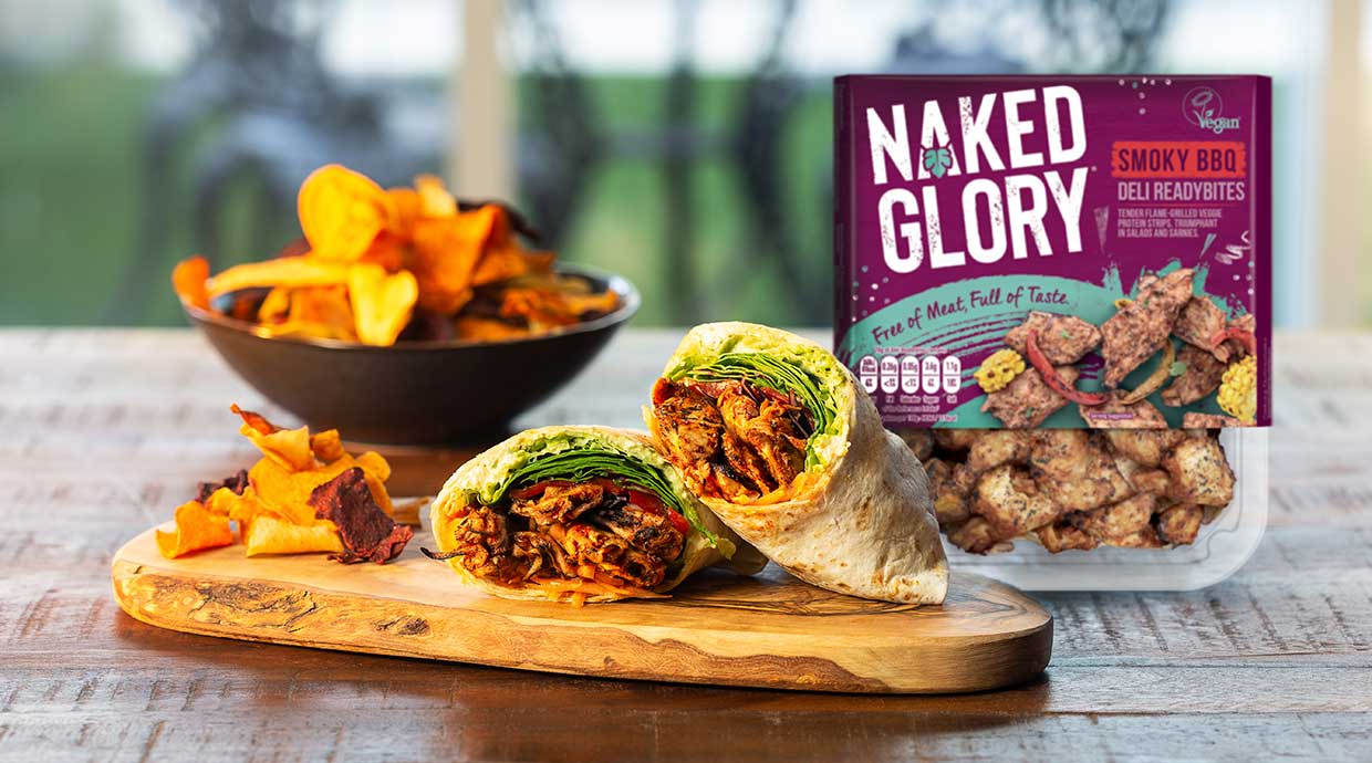 Naked Glory launches ready-to-eat vegan deli bites