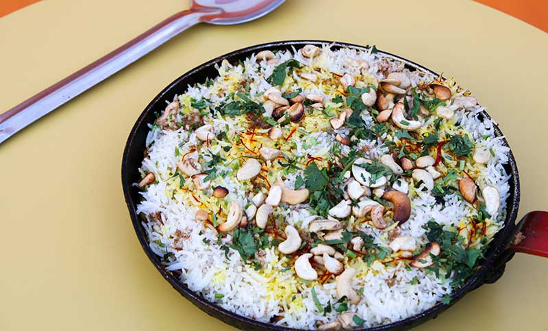 Quick Vegetable Biriyani