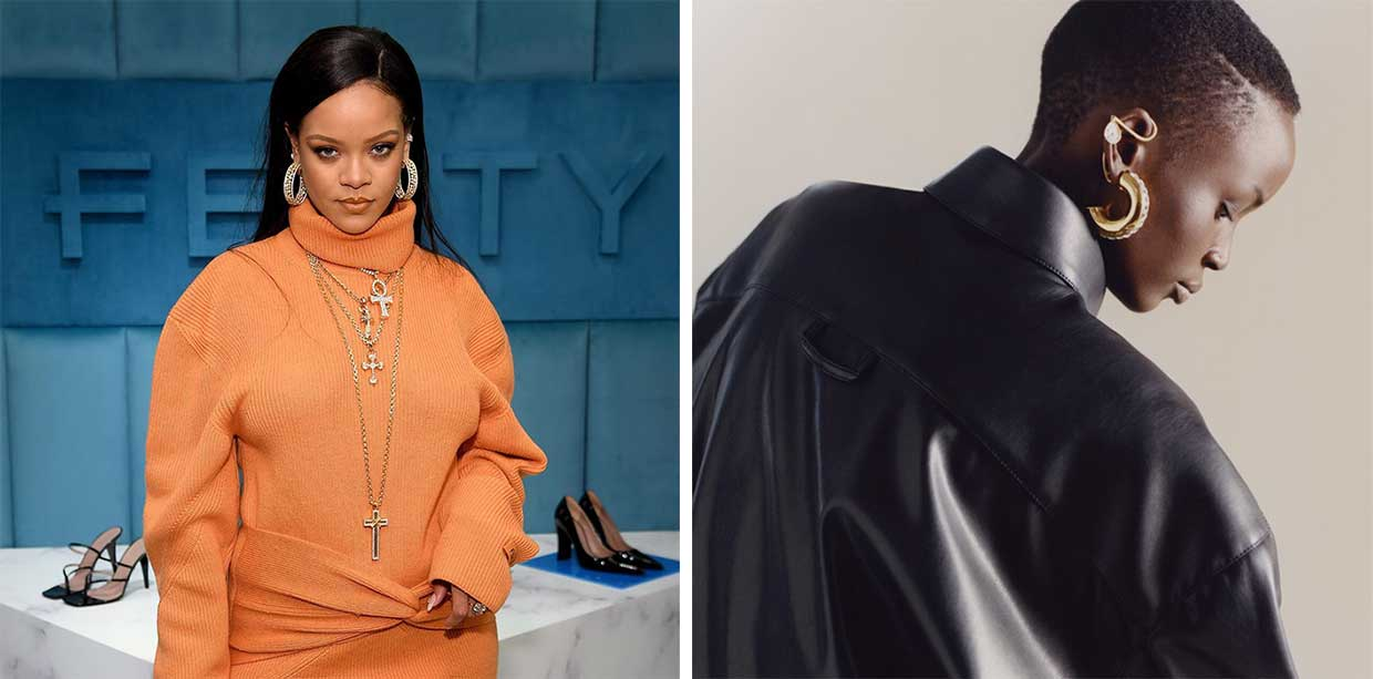 Rihanna launches iconic 'Small Trades' inspired vegan leather capsule collection