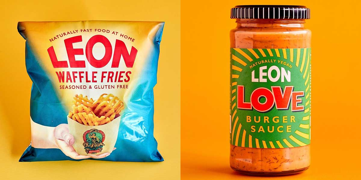 LEON launches waffle fries and vegan burger sauce at Sainsbury's