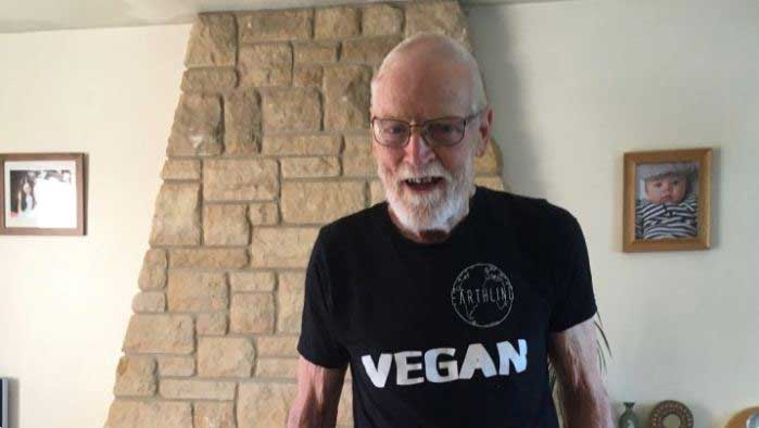 Meet the 82 year old vegan running 100km to raise money for rescued animals