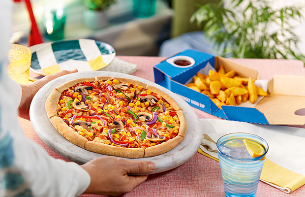 Domino's is launching two new vegan pizzas in the UK and ROI today