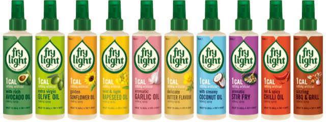 Cook smarter, feel better with Frylight cooking spray