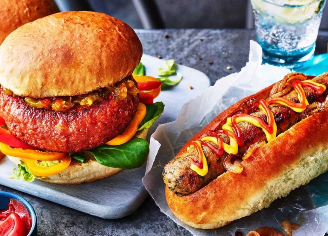 M&S launches vegan brioche avocado burger buns and hot dog buns