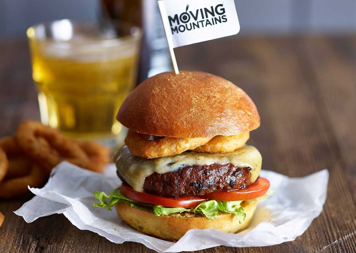 Moving Mountains 'bleeding' plant-based burger launches in UK supermarket