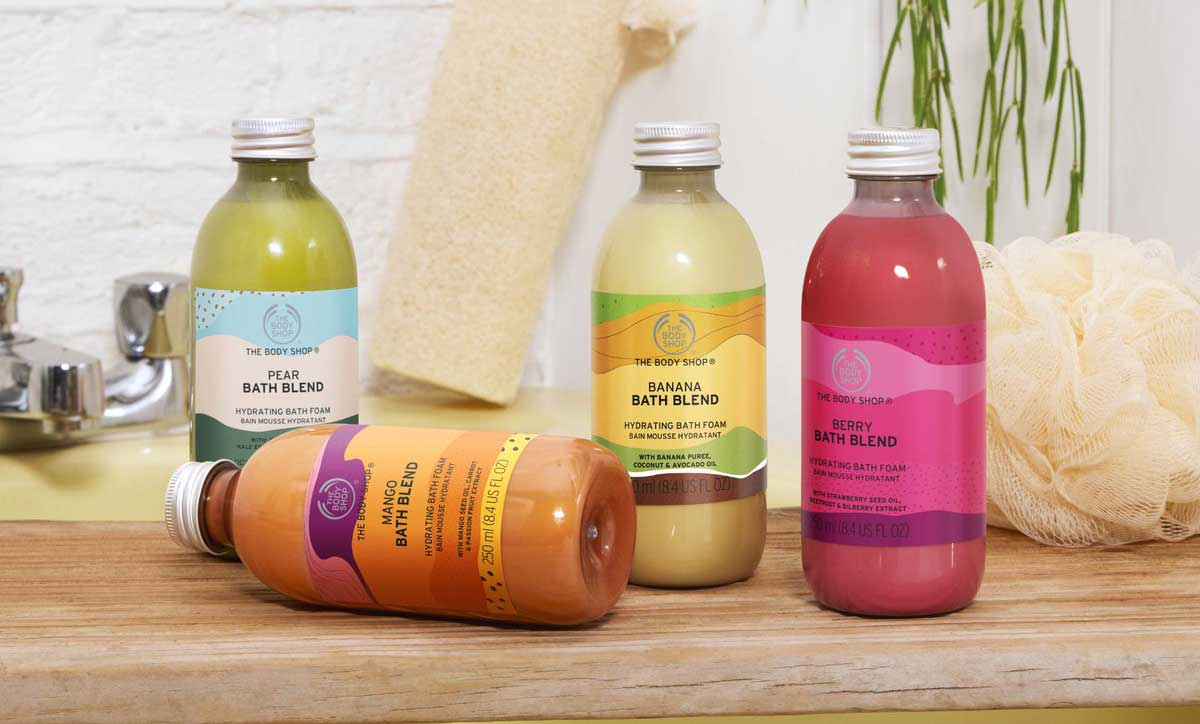 The Body Shop launches vegan bath range made from food waste