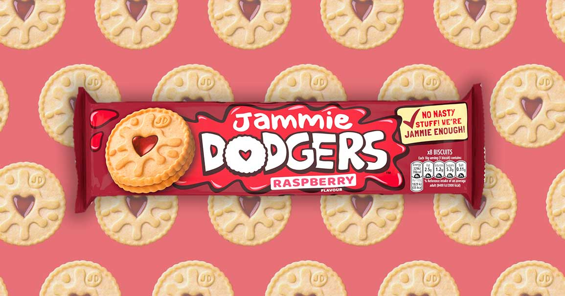 It's official – Jammie Dodgers are now vegan following recipe change!