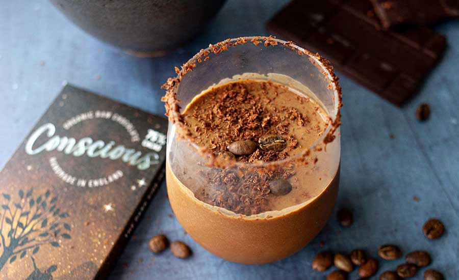 Creamy Vegan Chocolate Espresso Martini