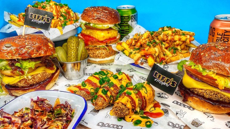 Biff's and BrewDog to launch the 'UK's biggest vegan food delivery brand'