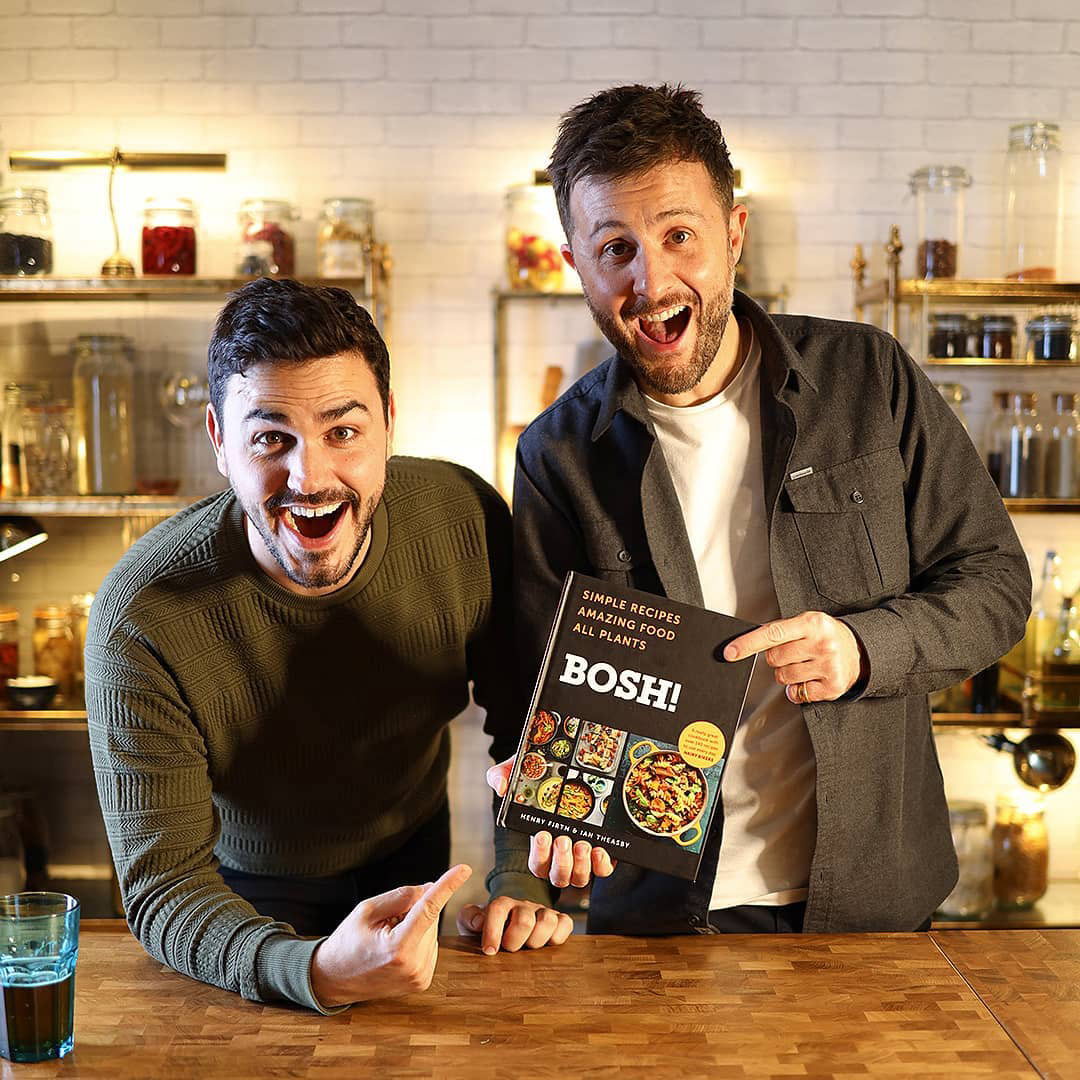 BOSH! is officially in the top 50 UK cookbooks of all time after selling 300,000 copies