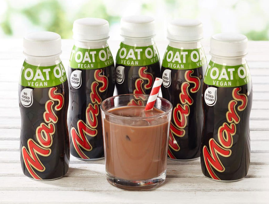Mars launches vegan chocolate 'Mars Oat' drink in its dairy-free range