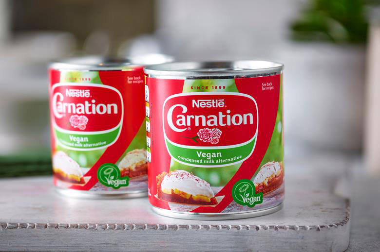 Nestlé is launching a vegan version of Carnation condensed milk