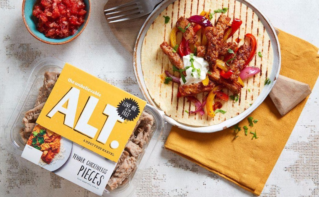 New plant-based meat brand The Unbelievable ALT launches at Tesco