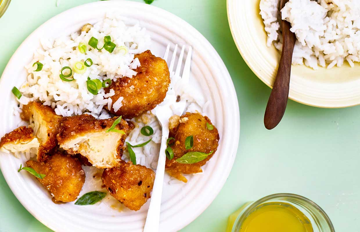 meat free nuggets