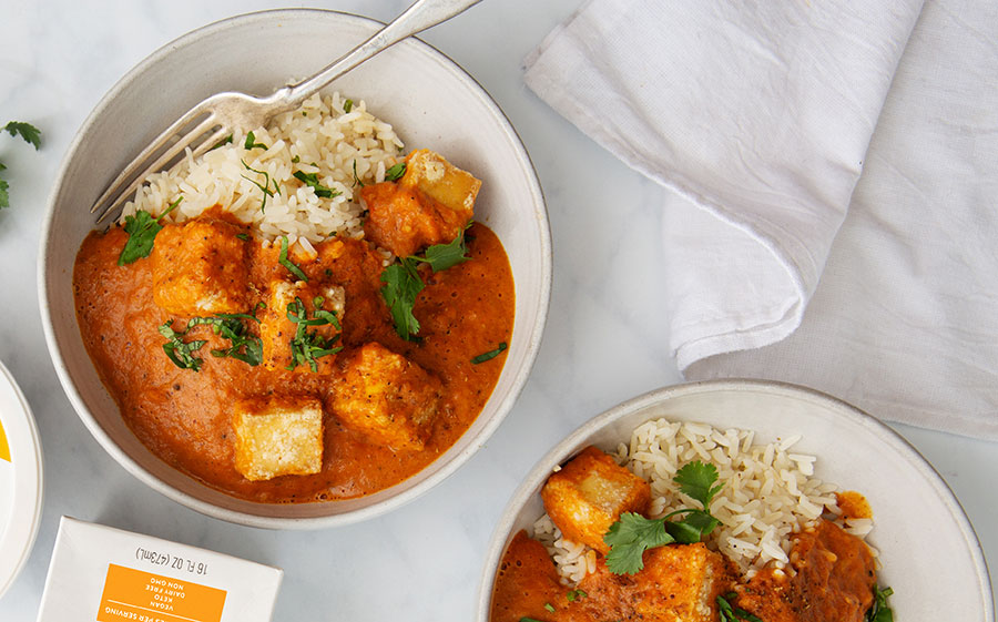 Vegan Butter Chicken With Tofu
