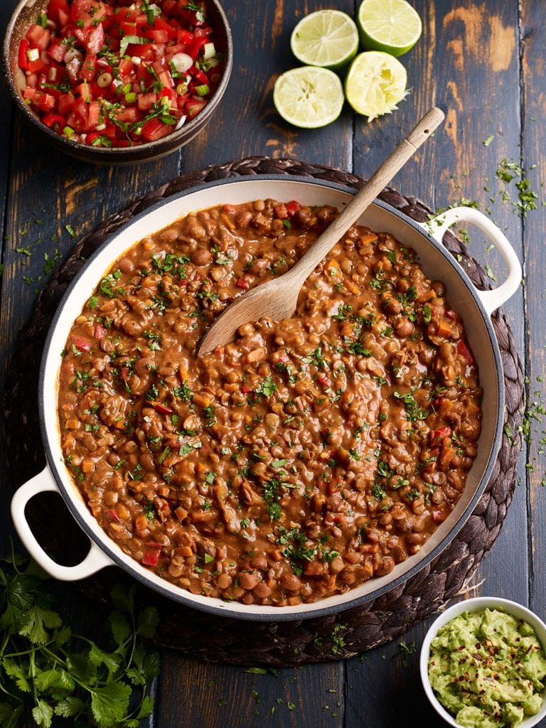 meat free chilli
