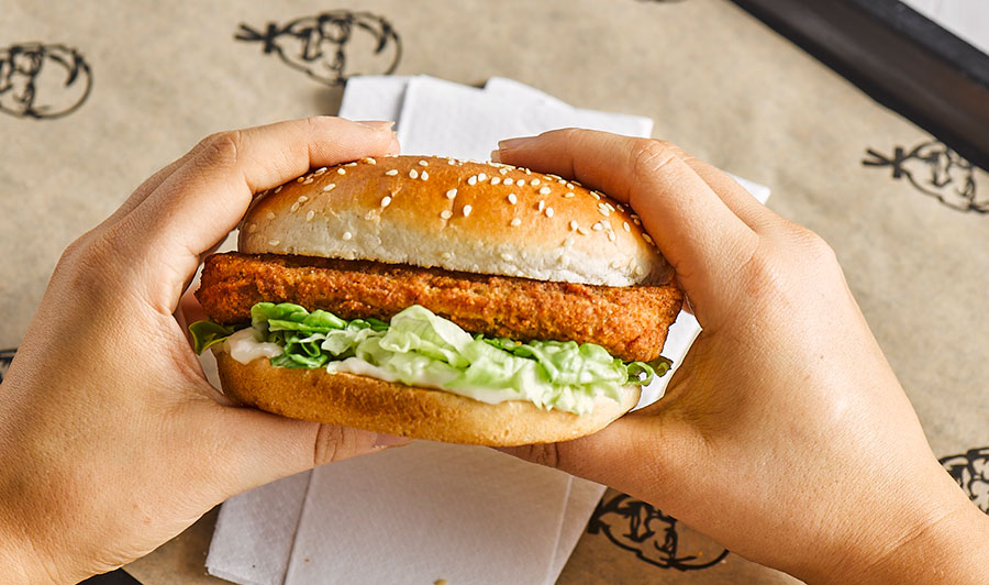KFC is bringing its vegan burger back for Veganuary 2021