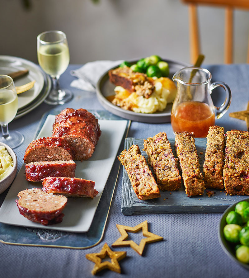 Tesco vegan Christmas foods