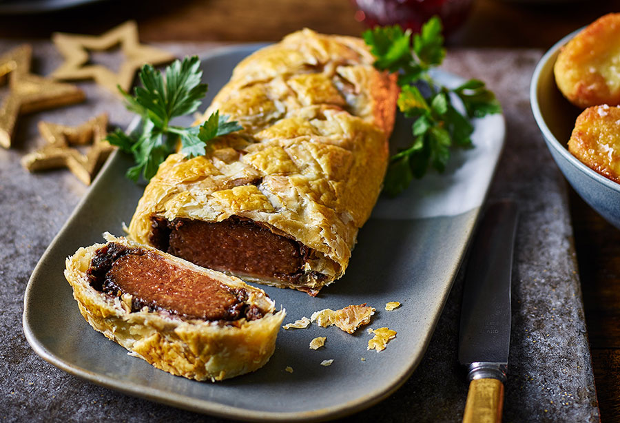 Enjoy a vegan feast this Christmas as Tesco unveils its huge festive range
