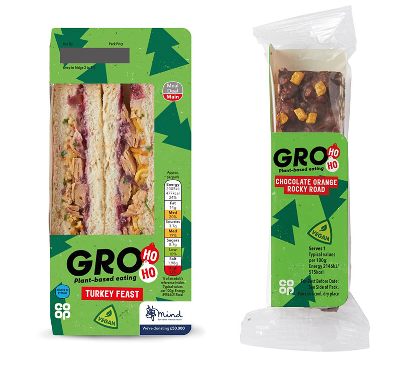 Co-op to launch festive vegan turkey sandwich in meal deal this Christmas
