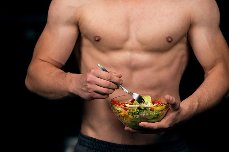 vegan diets lower testosterone levels