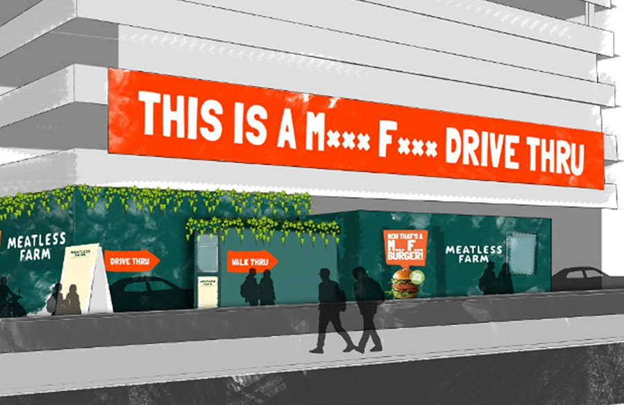 Meatless Farm is opening the UK's first plant-based drive-thru