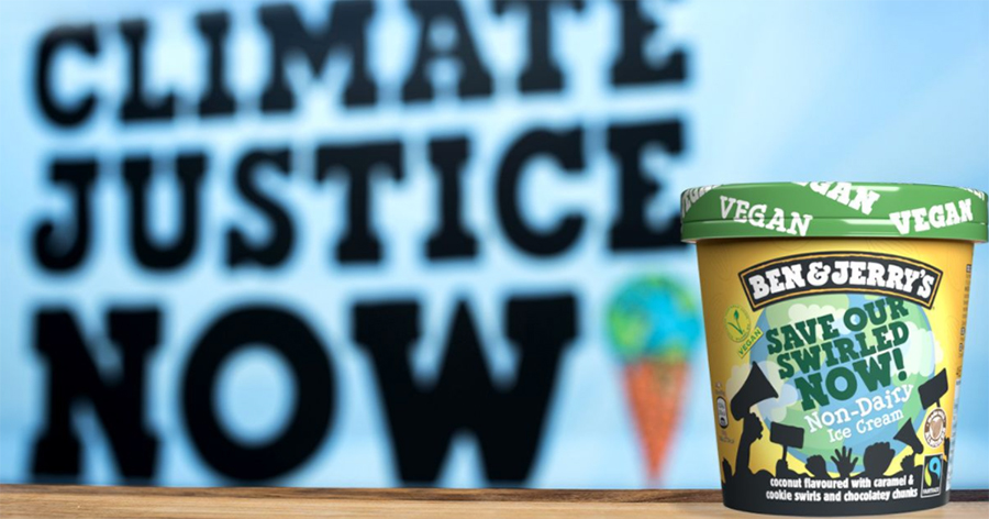 Ben & Jerry's release vegan ice cream to tackle climate change