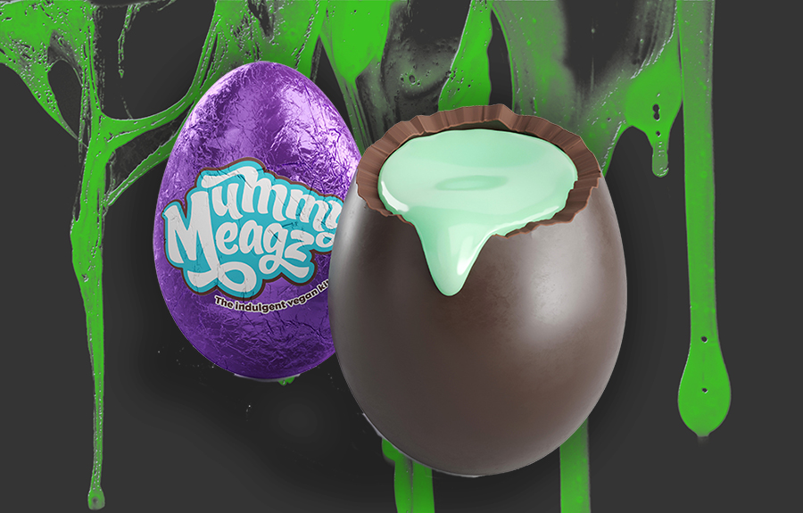 Mummy Meagz launches spooky green vegan crème eggs for Halloween