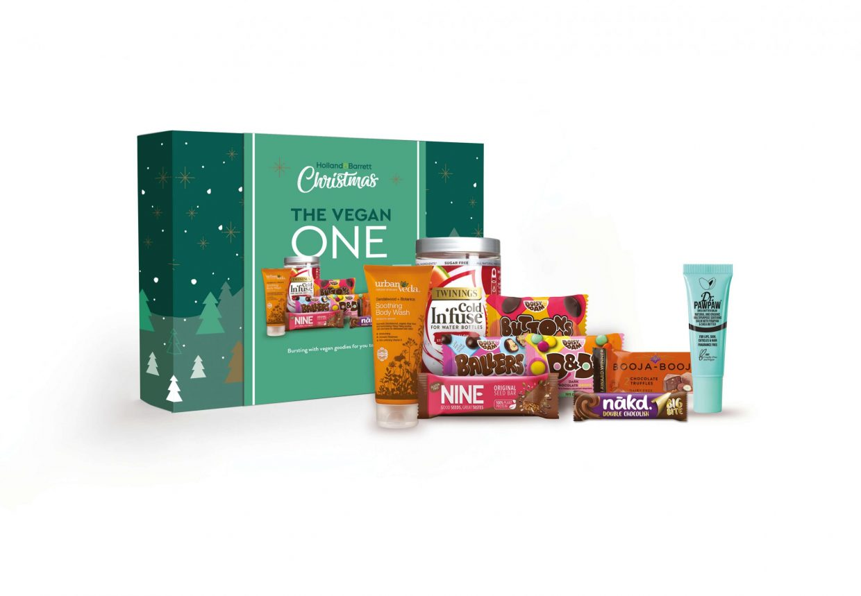 Holland & Barrett launch range of sustainable and vegan Christmas boxes
