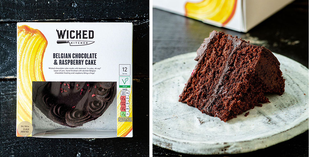 Wicked Kitchen launches decadent vegan Belgian chocolate cake at Tesco