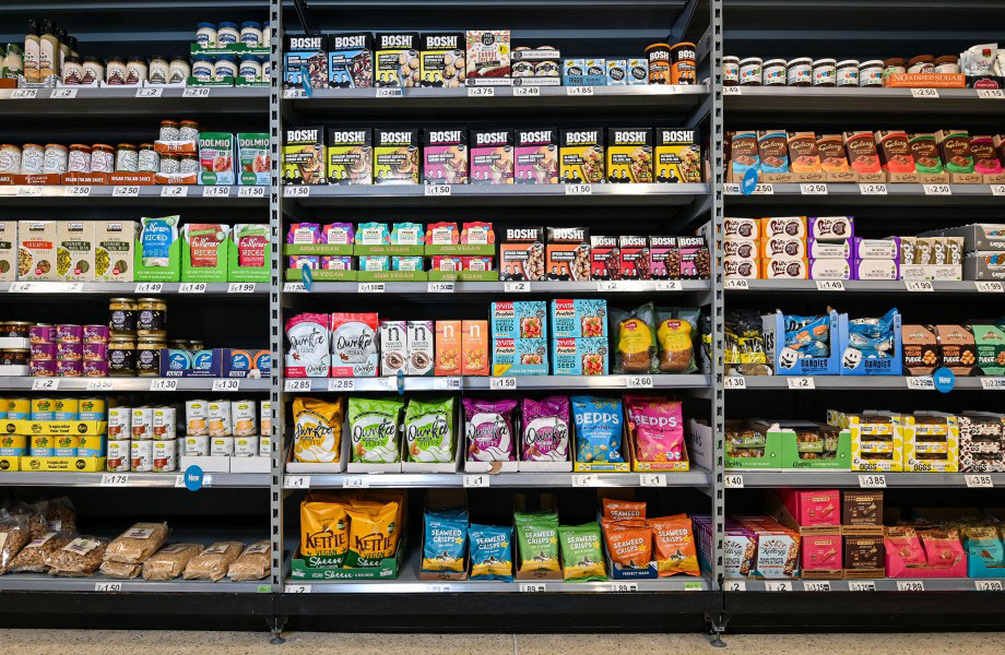 Asda to become first UK supermarket to launch ambient vegan aisle