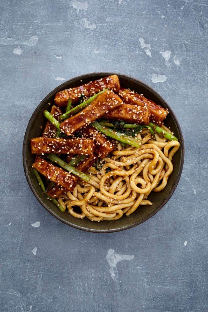 Char Sui Tofu Noodles