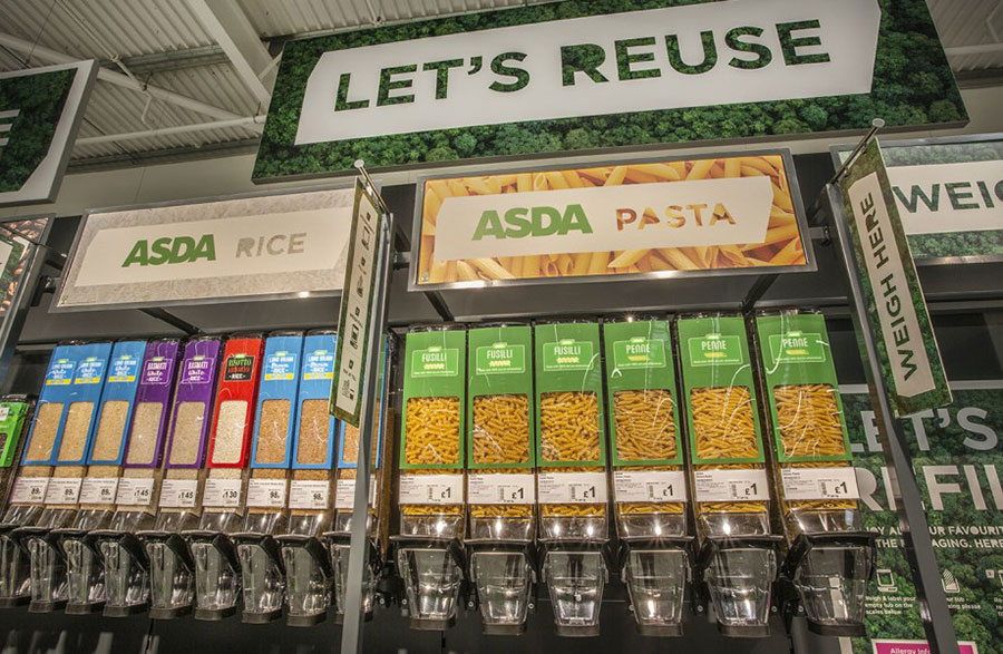 Asda opens sustainability store in new eco-strategy