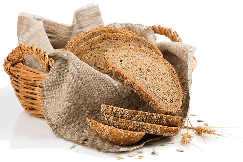 Wholemeal linseed bread is a great source of zinc for vegans