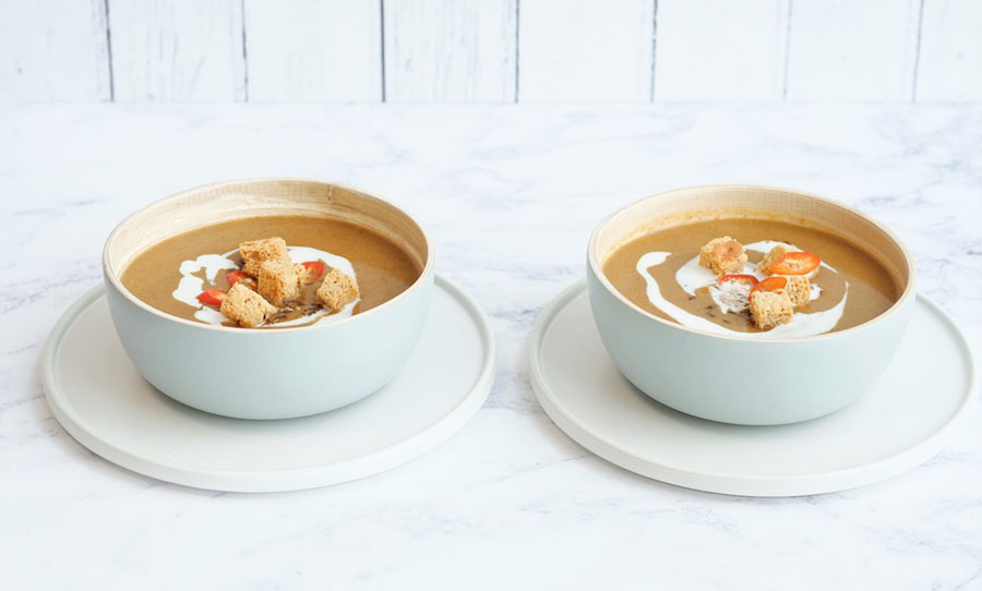 Spicy Butternut Squash & Ginger Soup