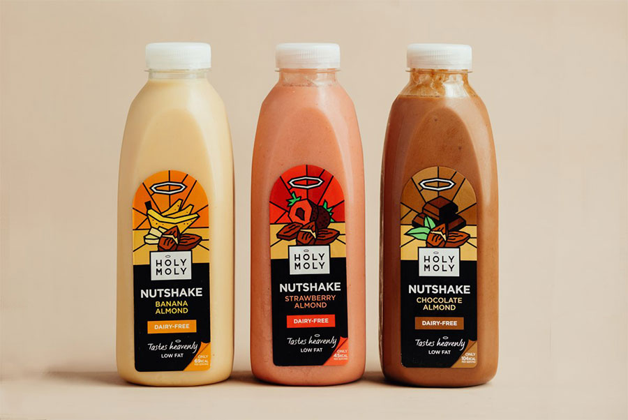 Holy Moly launches range of nut-based vegan milkshakes at Sainsbury's