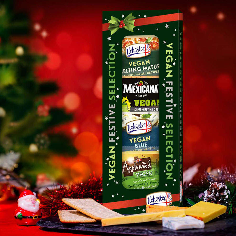 Supermarket giants to stock new Ilchester Vegan Festive Cheese Selection