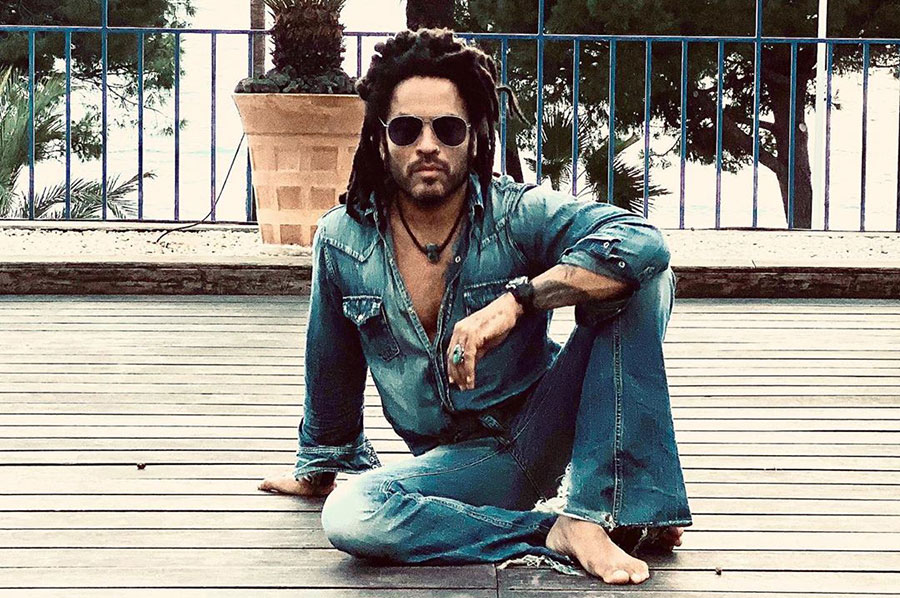 Lenny Kravitz says his vegan diet helps him stay in shape at 56