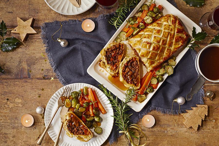 Vegan Christmas Wellington