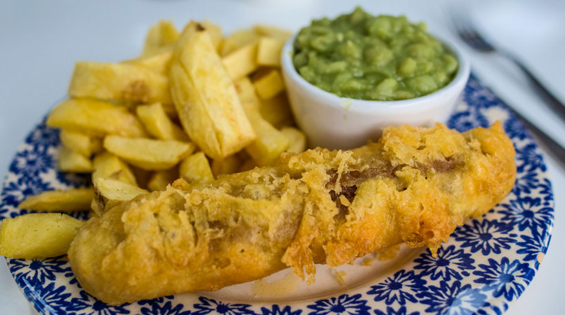 Traditional fish and chip shop launches vegan menu and sells out in a day