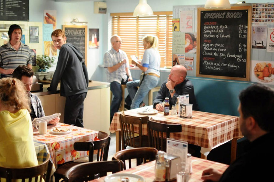 EastEnders goes veggie and cuts out meat on screen to reduce carbon footprint