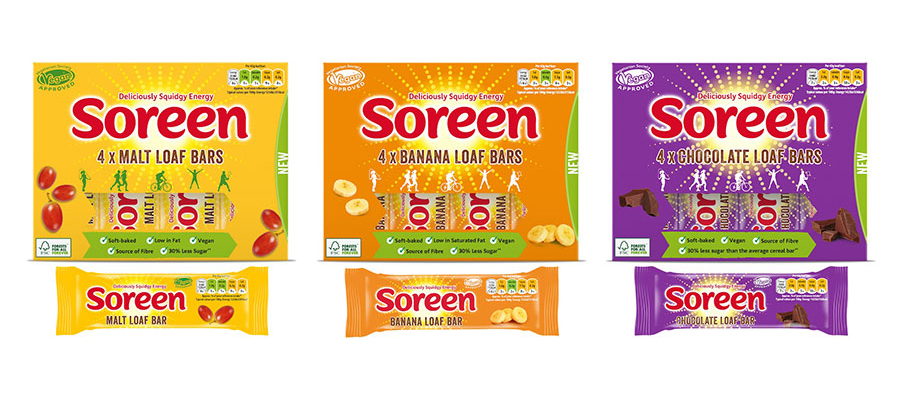 Soreen launch vegan loaf bar multipacks with new chocolate flavour