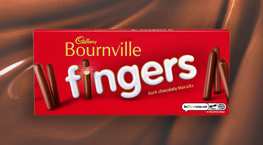 Cadbury launches new vegan-friendly Bournville fingers